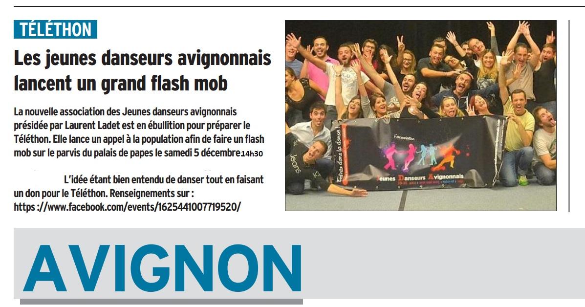 Telethon 2015 flashmob